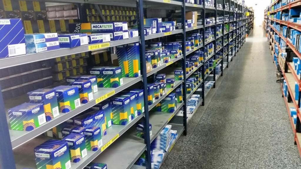 Exemples de produits dans l'entrepôt