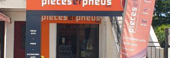 Juin 2020 : Déménagement de la boutique Piecesetpneus à Agen
